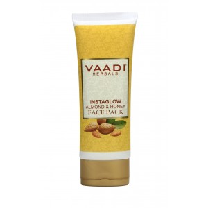 Buy Vaadi Herbal Instaglow Almond & Honey Face Pack - Nykaa