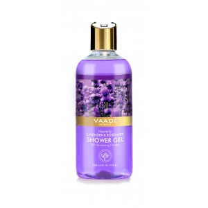 Buy Vaadi Herbals Heavenly Lavender & Rosemarry Shower Gel - Nykaa