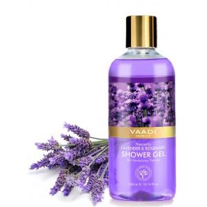 Buy Vaadi Herbals Heavenly Lavender & Rosemarry Shower Gel - Nykaa