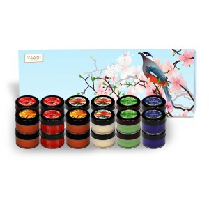 Buy Vaadi Herbals Premium 24 Lip Balm Gift Box (Assorted) - Nykaa