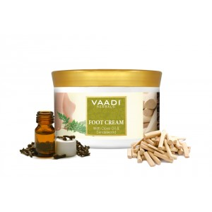 Buy Vaadi Herbals Foot Cream With Clove Oil & Sandalwood - Nykaa