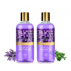 Buy Vaadi Herbals Heavenly Lavender & Rosemary Shower Gel (Pack of 2) - Nykaa