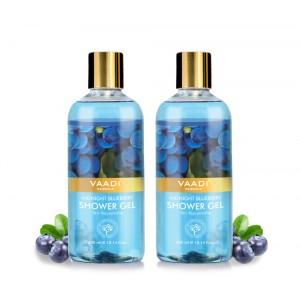 Buy Vaadi Herbals Midnight Blueberry Shower Gel (Pack of 2) - Nykaa