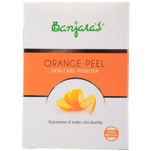 Buy Banjara's Orange Peel Skin Care Powder - Nykaa