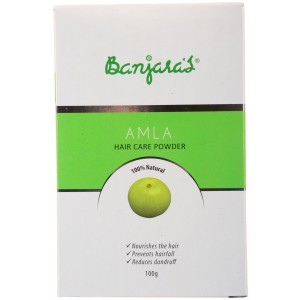 Buy Banjara's Amla Hair Care Powder (5 Sachets Inside) - Nykaa