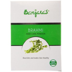 Buy Banjara's Brahmi Hair Care Powder (5 Sachets Inside) - Nykaa