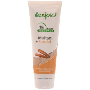 Buy Banjara's 15 Minute Multani + Sandal Face Pack - Nykaa