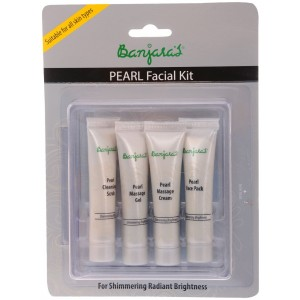 Buy Banjara's Pearl Facial Kit (4 Tubes Inside) - Nykaa