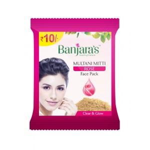 Buy Banjara's Multani Mitti Rose (Pack of 12) - Nykaa