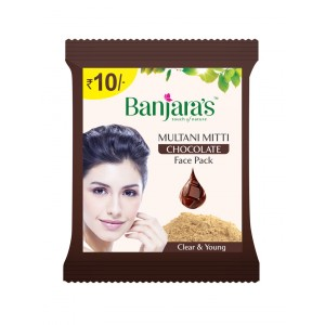 Buy Banjara's Multani Mitti Chocolate (Pack of 12) - Nykaa