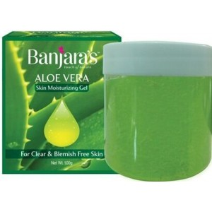 Buy Banjara's Aloe Vera Skin Moisturing Gel - Nykaa