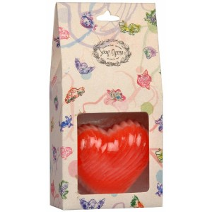 Buy Soap Opera Handmade Designer Swirled Heart Soap - Nykaa