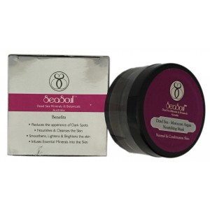 Buy SeaSoul Dead Sea Moroccan Argan Nourishing Mask For Normal & Combination Skin - Nykaa
