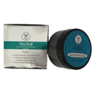 Buy Herbal SeaSoul Dead Sea Mud Treatment - Anti Acne Mask - Nykaa