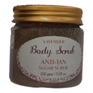 Buy Herbal SeaSoul Lavender Sugar Body Scrub Anti-Tan - Nykaa