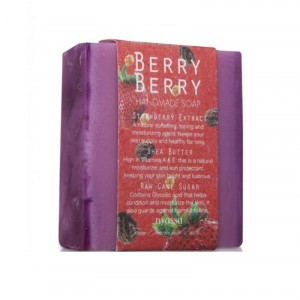 Buy Nyassa Berry Berry Handmade Sugar Soap - Nykaa