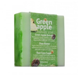 Buy Herbal Nyassa Green Apple Sugar Soap - Nykaa
