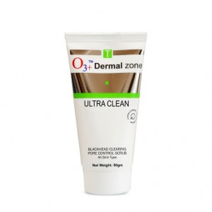 Buy O3+ Ultra Clean Blackhead Clearing Pore Control Scrub - Nykaa