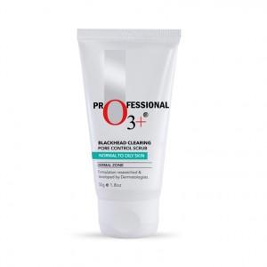 Buy O3+ Ultra Clean Blackhead Clearing Pore Control Scrub - Nykaa
