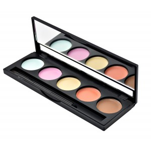 Buy GlamGals 5 Color Waterproof Concealer Palette - Nykaa
