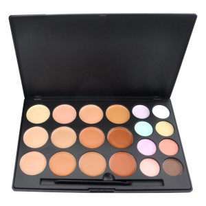 Buy GlamGals 20 Color Matte Finish Waterproof Concealer Palette - Nykaa