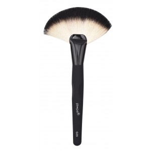 Buy GlamGals Black Fan Brush - Nykaa