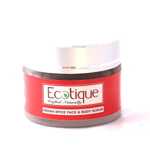 Buy Ecotique Indian Spice Face & Body Scrub - Nykaa