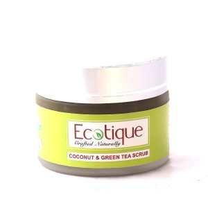 Buy Ecotique Coconut & Green Tea Scrub - Nykaa