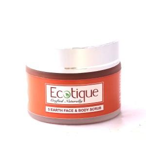 Buy Ecotique 5 Earth Face & Body Scrub - Nykaa