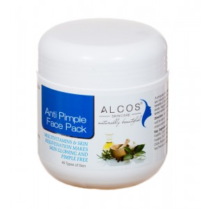Buy Alcos Anti Pimple Face Pack - Nykaa