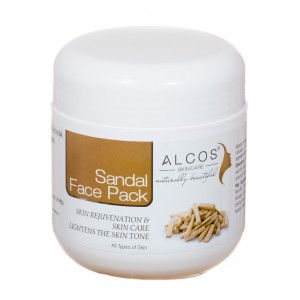 Buy Alcos Sandal Face Pack - Nykaa