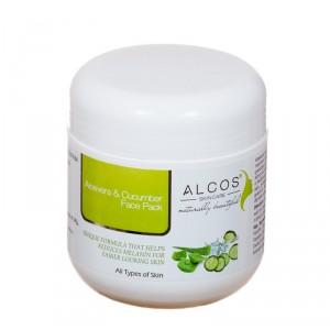 Buy Herbal Alcos Aloevera & Cucumber Face Pack - Nykaa