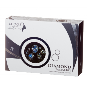 Buy Alcos Diamond Facial Kit - Nykaa