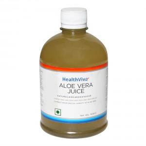 Buy HealthViva Aloe Vera Juice - Nykaa