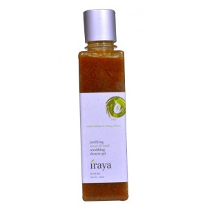 Buy Iraya Purifying Neem & Basil Scrubbing Shower Gel - Nykaa