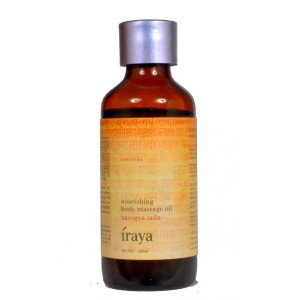Buy Iraya Nourishing Body Massage Oil (Aarogya Taila) - Nykaa