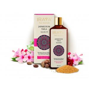 Buy Iraya Cold Pressed Japakusum Ayurvedic Taila - Nykaa