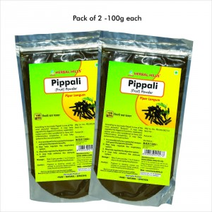 Buy Herbal Herbal Hills Pippali fruit Powder - Nykaa