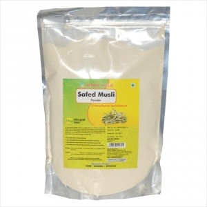 Buy Herbal Hills Safed Musli Powder - Nykaa
