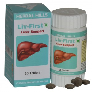 Buy Herbal Hills Liv First Tab - Nykaa