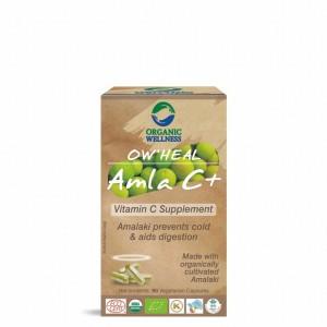 Buy Organic Wellness Heal Amla C+ (Vitamin C Supplement) - Nykaa