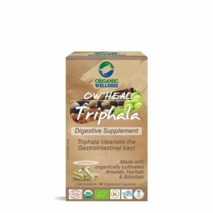 Buy Organic Wellness Heal Triphala (Digestive Supplement) - Nykaa