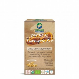Buy Organic Wellness Heal Turmeric C+ (Daily-Use Supplement) - Nykaa