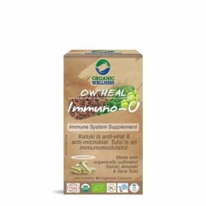 Buy Organic Wellness Heal Immuno-U (Immune System Supplement) - Nykaa