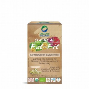Buy Organic Wellness Heal Fat-Fit (Fat Reduction Supplement) - Nykaa