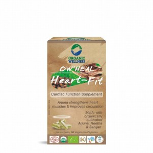 Buy Organic Wellness Heal Heart-Fit (Cardiac Function Supplement) - Nykaa