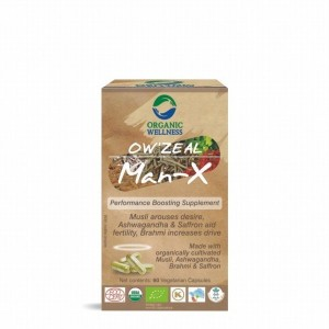 Buy Organic Wellness Zeal Man-X (Performance Boosting Supplement) - Nykaa