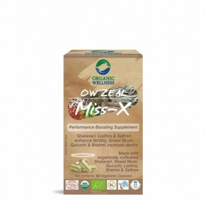 Buy Organic Wellness Zeal Miss-X (Performance Boosting Supplement) - Nykaa