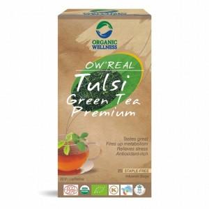 Buy Organic Wellness Real Tulsi Green Tea Premium - Nykaa