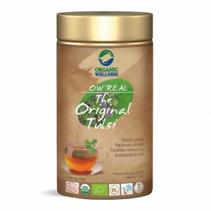 Buy Organic Wellness Real The Original Tulsi Tea Tin - Nykaa
